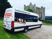 Minicoach at Bolton Castle
