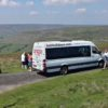 Bus on the moors